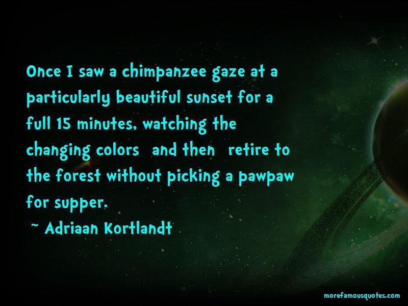 Adriaan Kortlandt Quotes