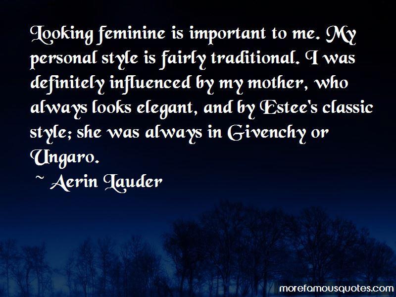 Aerin Lauder Quotes Pictures 4