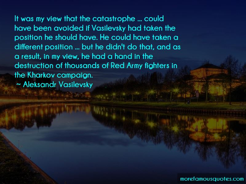 Aleksandr Vasilevsky Quotes Pictures 4