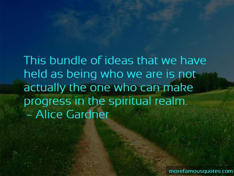 Alice Gardner Quotes