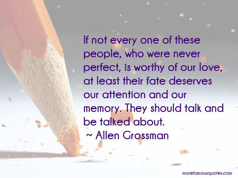 Allen Grossman Quotes Pictures 2