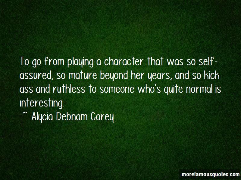 Alycia Debnam Carey Quotes Pictures 4