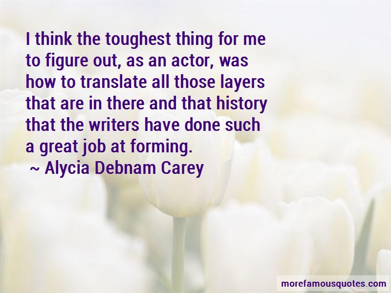 Alycia Debnam Carey Quotes