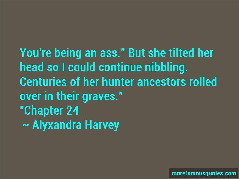 Alyxandra Harvey Quotes Pictures 3