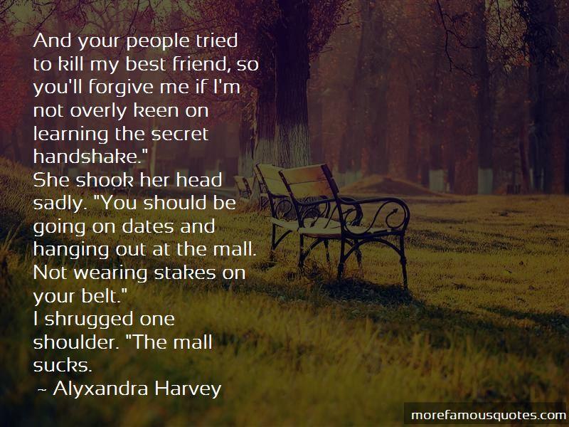 Alyxandra Harvey Quotes