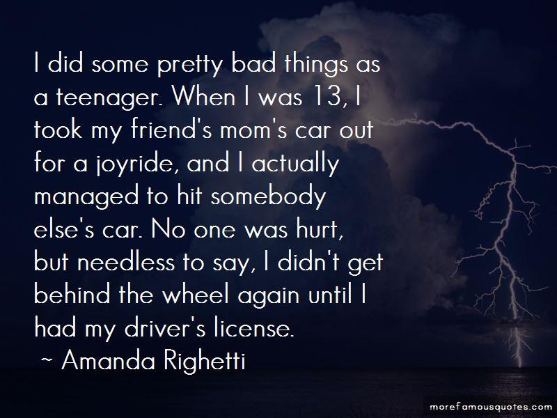 Amanda Righetti Quotes