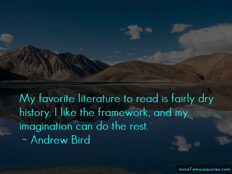Andrew Bird Quotes Pictures 2