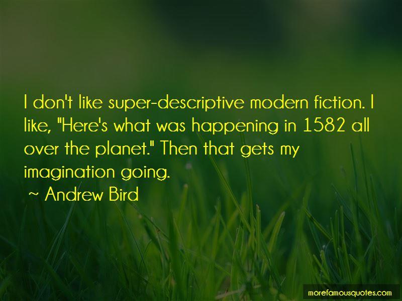 Andrew Bird Quotes