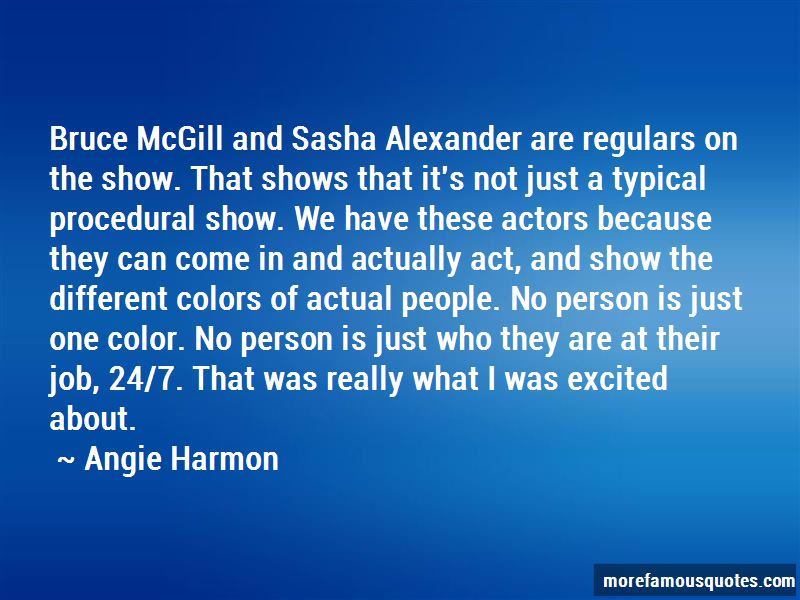 Angie Harmon Quotes Pictures 2