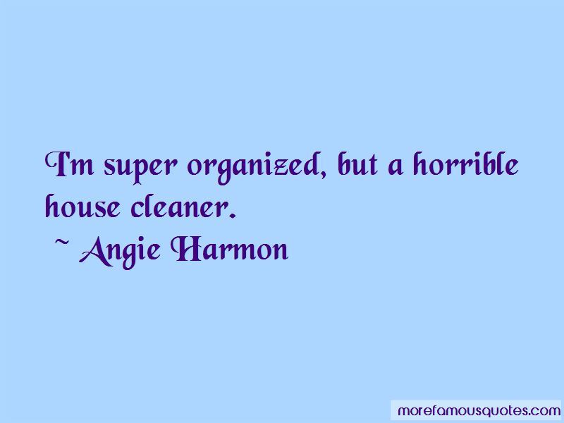 Angie Harmon Quotes Pictures 3