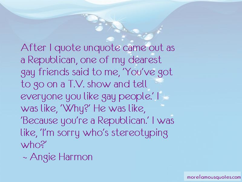 Angie Harmon Quotes Pictures 4