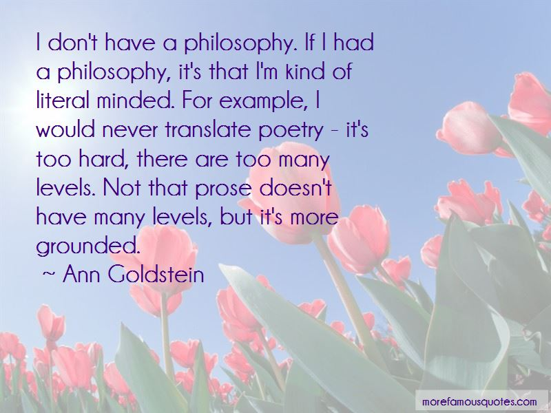 Ann Goldstein Quotes Pictures 3
