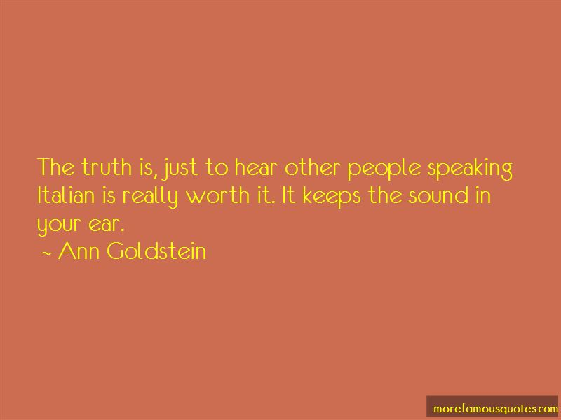 Ann Goldstein Quotes Pictures 4