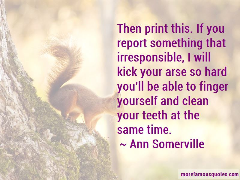 Ann Somerville Quotes Pictures 3