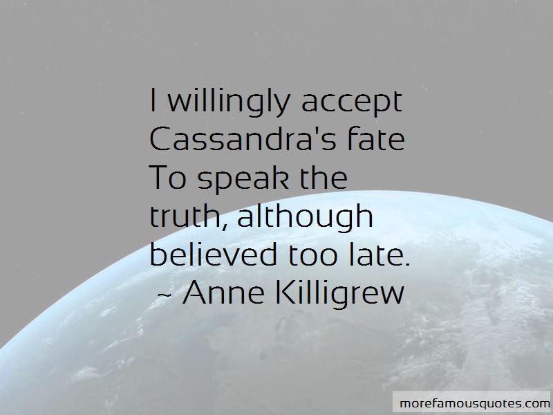 Anne Killigrew Quotes