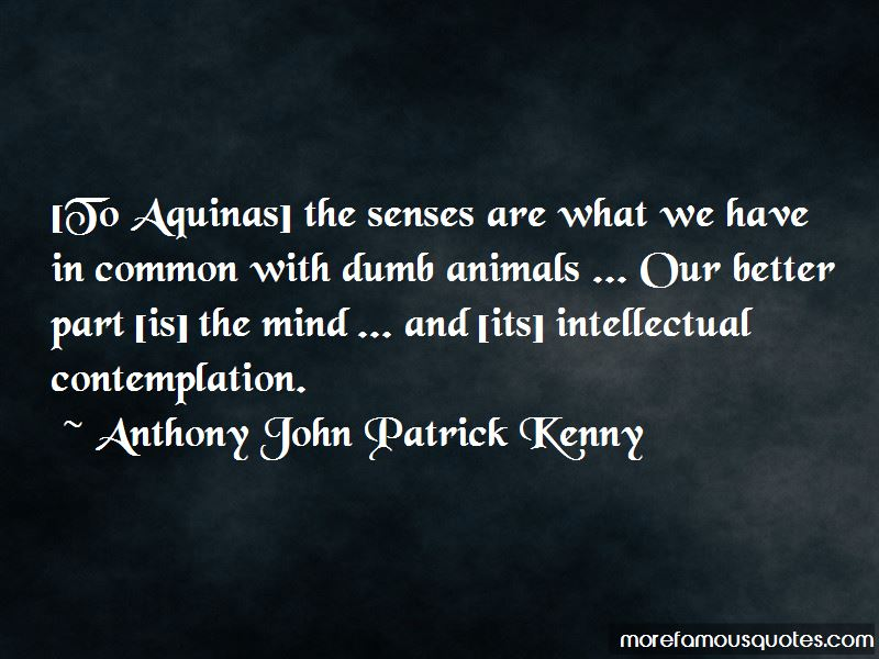Anthony John Patrick Kenny Quotes Pictures 2