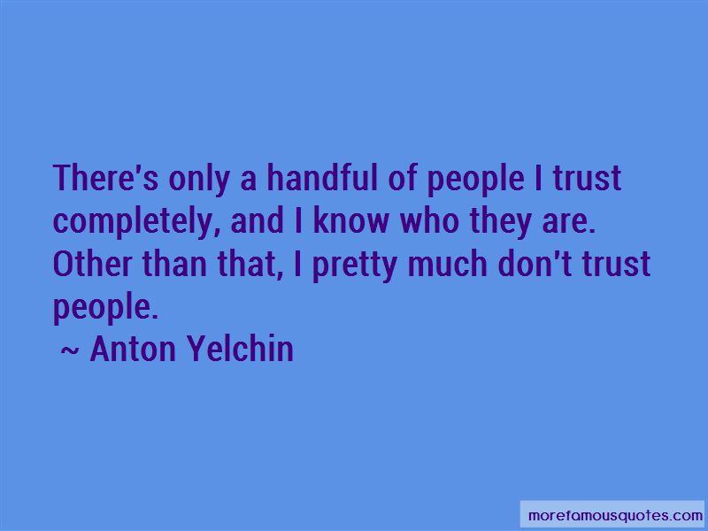 Anton Yelchin Quotes