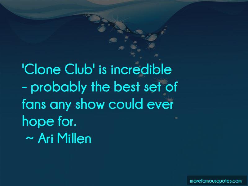 Ari Millen Quotes Pictures 2