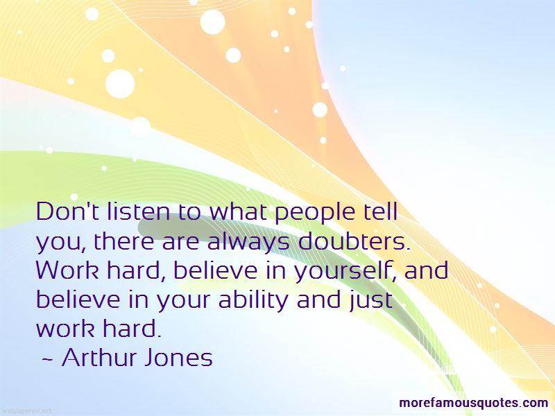 Arthur Jones Quotes