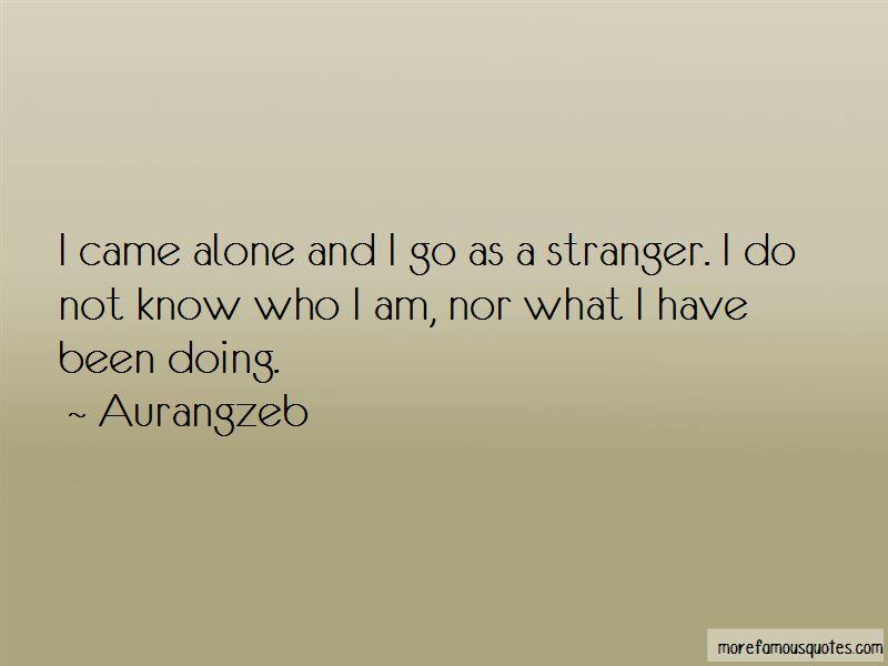 Aurangzeb Quotes