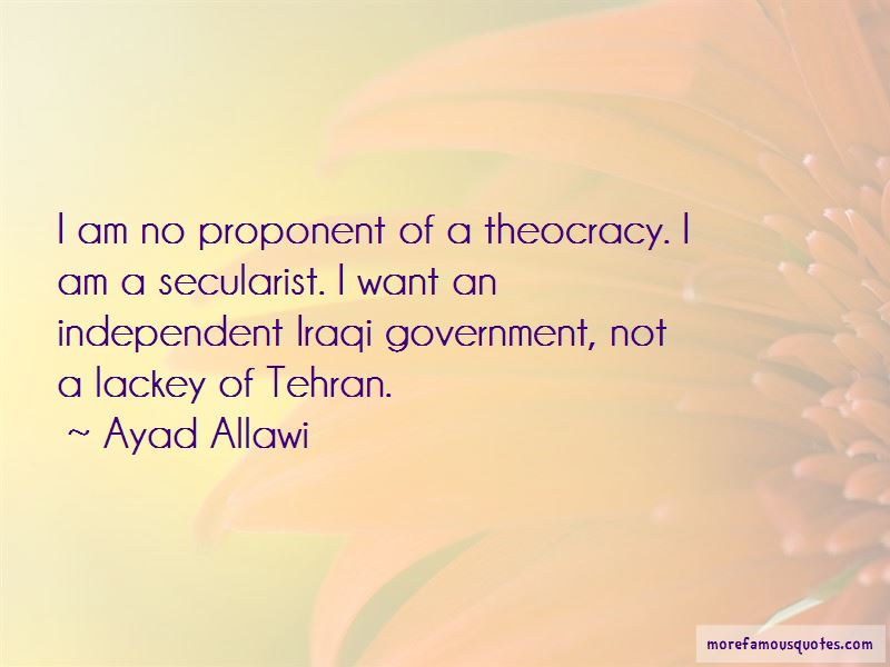 Ayad Allawi Quotes