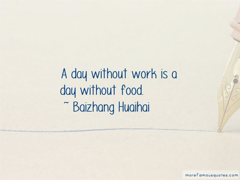 Baizhang Huaihai Quotes Pictures 2