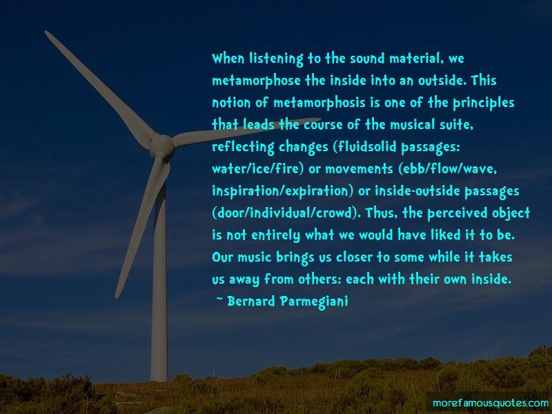 Bernard Parmegiani Quotes