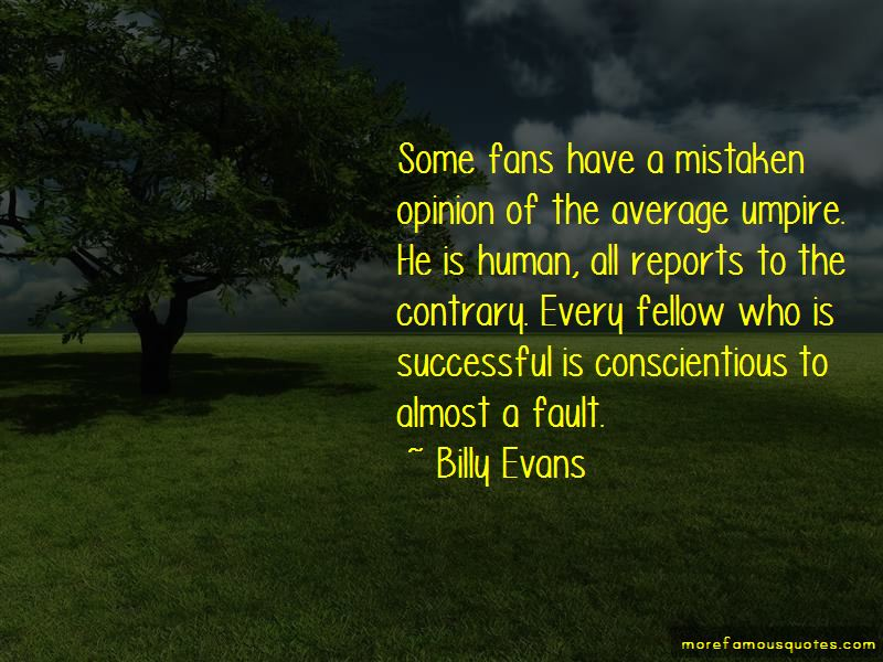 Billy Evans Quotes Pictures 2