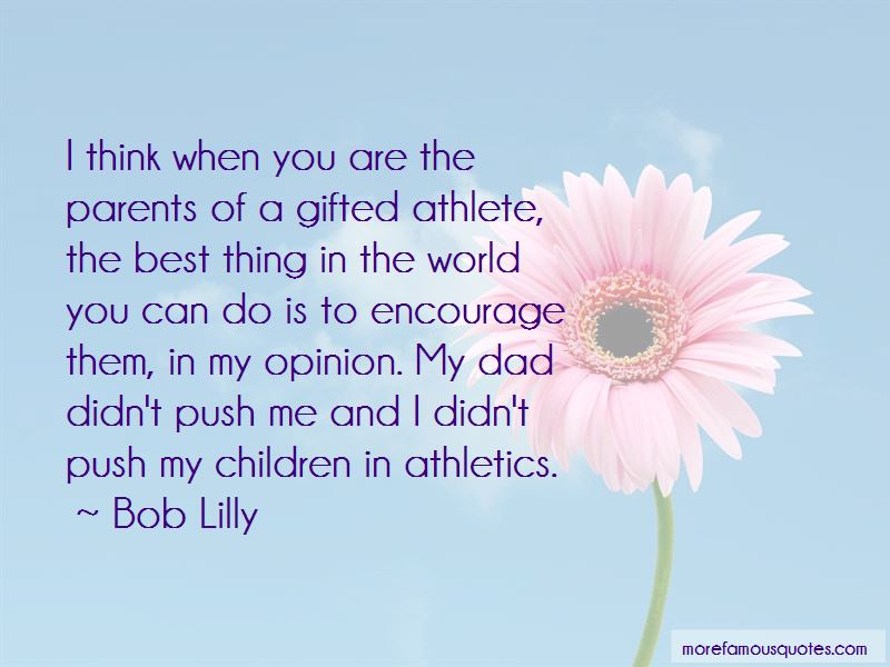 Bob Lilly Quotes