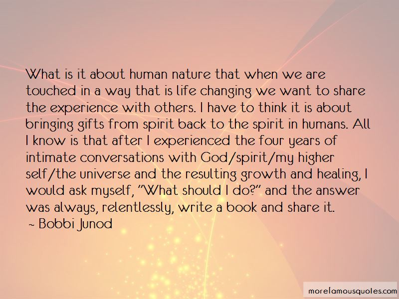 Bobbi Junod Quotes