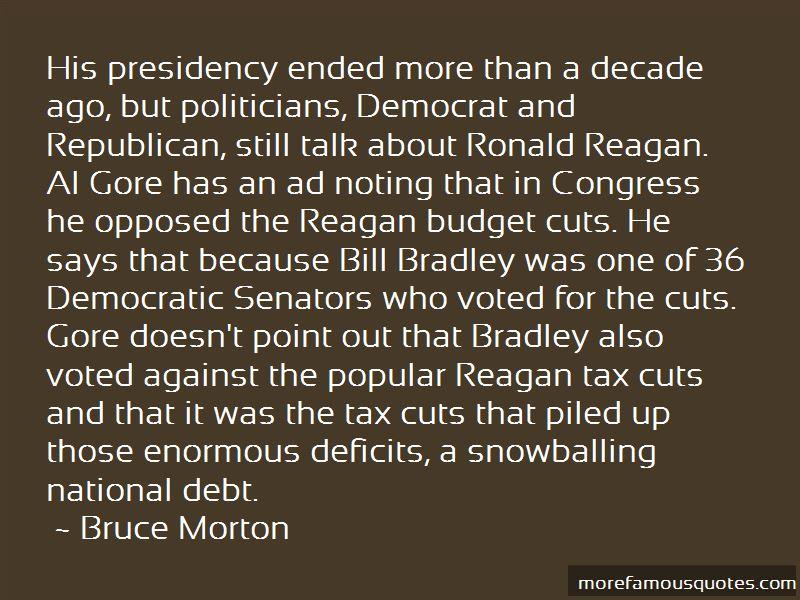 Bruce Morton Quotes