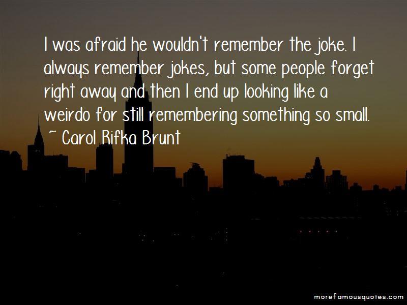 Carol Rifka Brunt Quotes Pictures 2