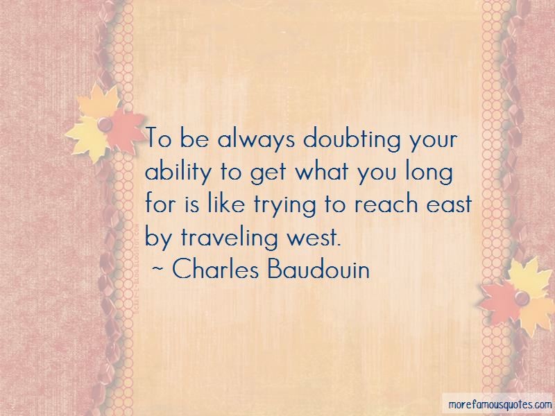 Charles Baudouin Quotes Pictures 2