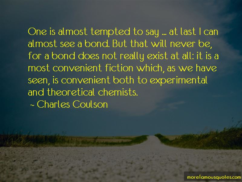 Charles Coulson Quotes