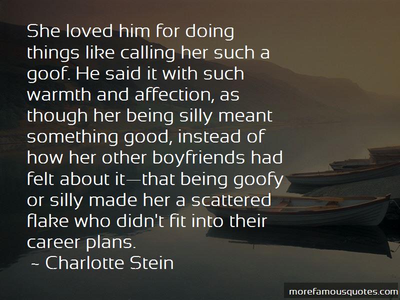 Charlotte Stein Quotes