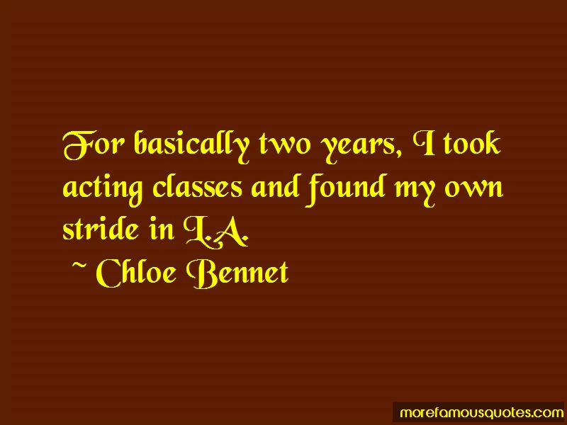 Chloe Bennet Quotes Pictures 3
