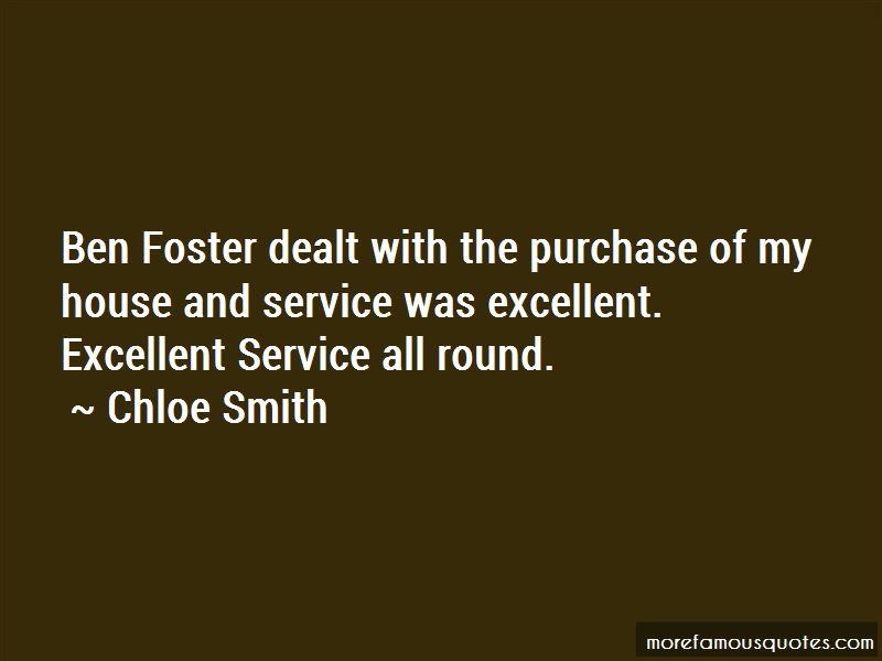 Chloe Smith Quotes