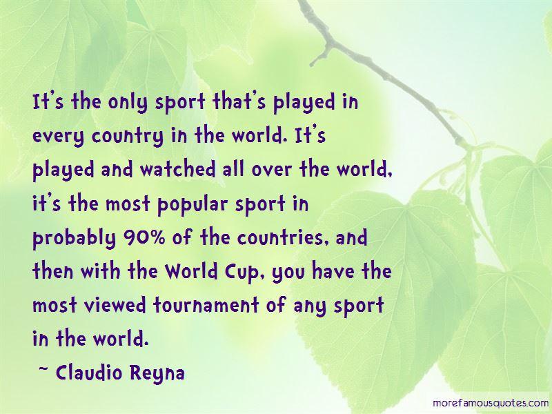 Claudio Reyna Quotes