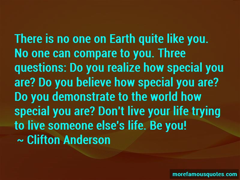 Clifton Anderson Quotes Pictures 3
