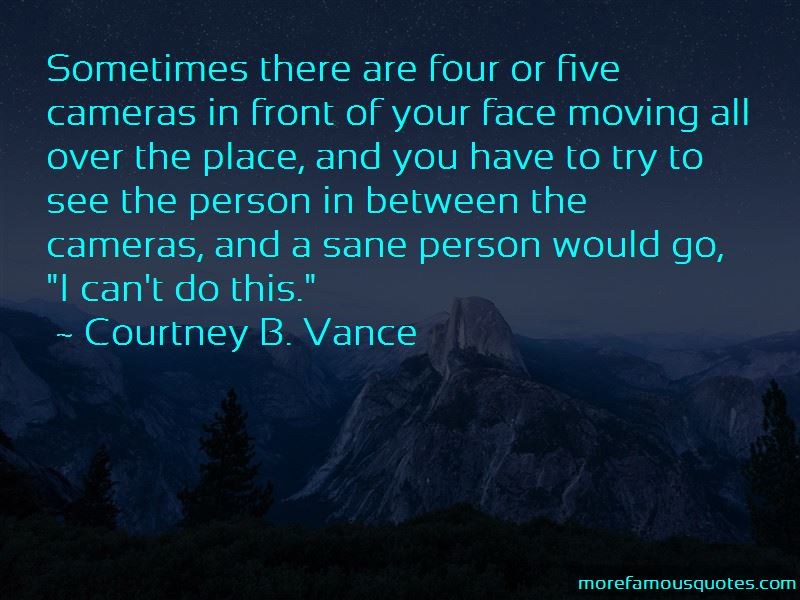 Courtney B. Vance Quotes