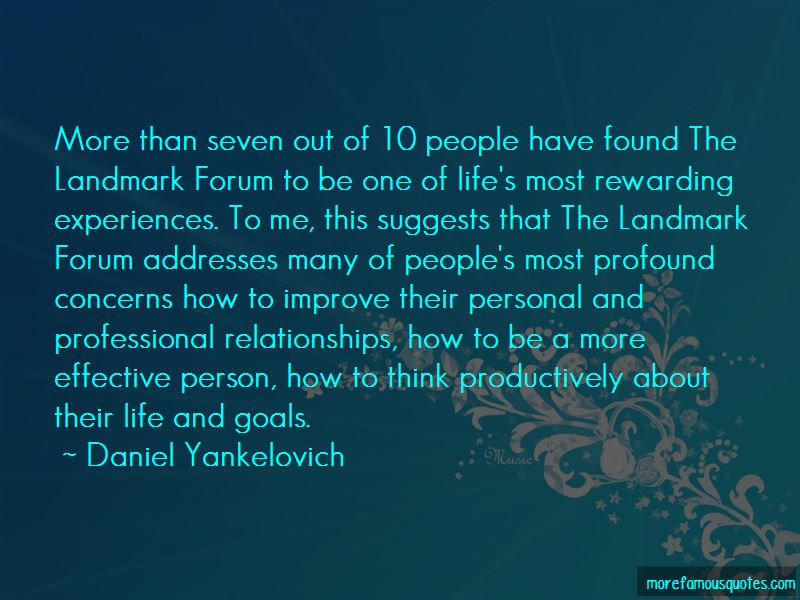 Daniel Yankelovich Quotes