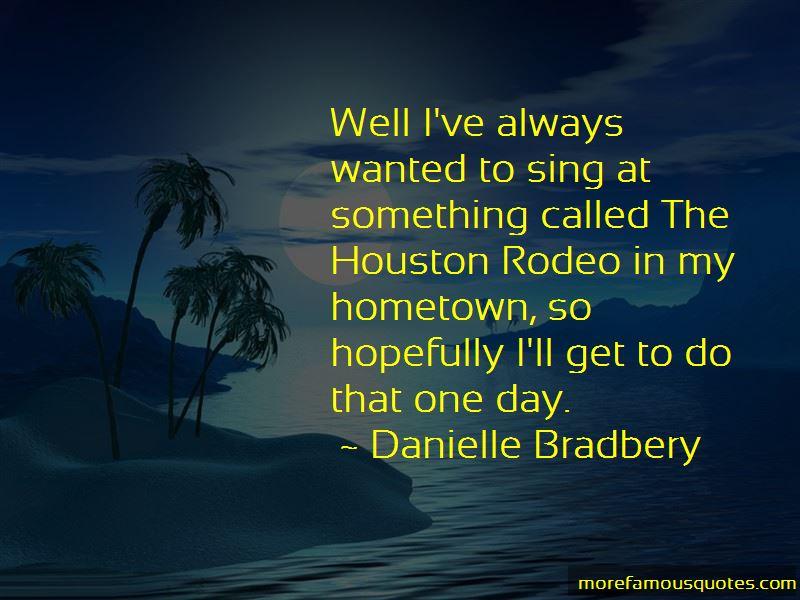 Danielle Bradbery Quotes Pictures 2