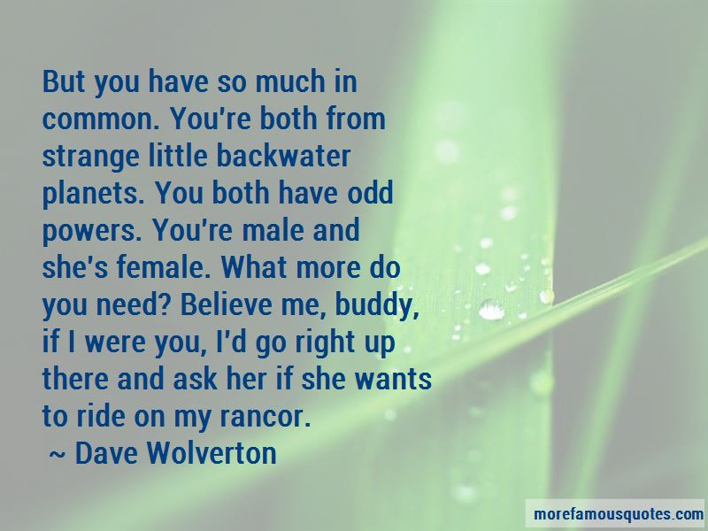 Dave Wolverton Quotes Pictures 2