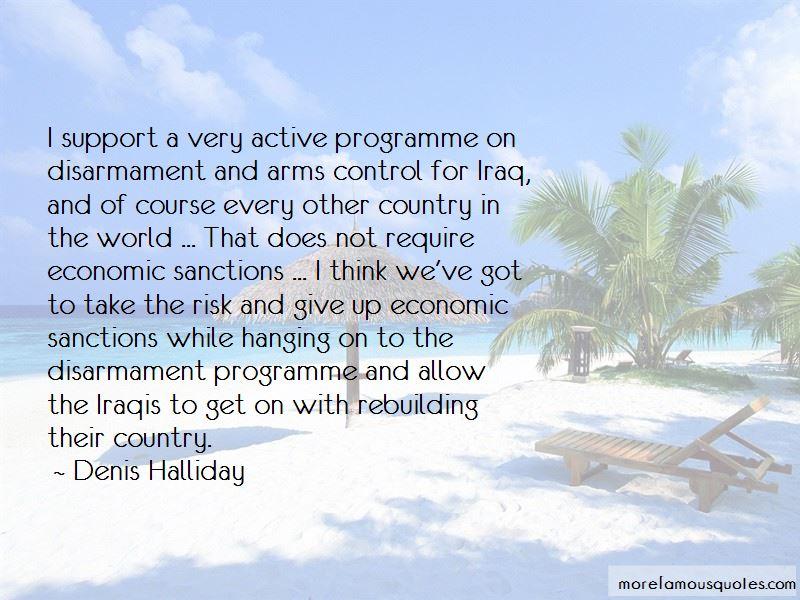 Denis Halliday Quotes Pictures 2