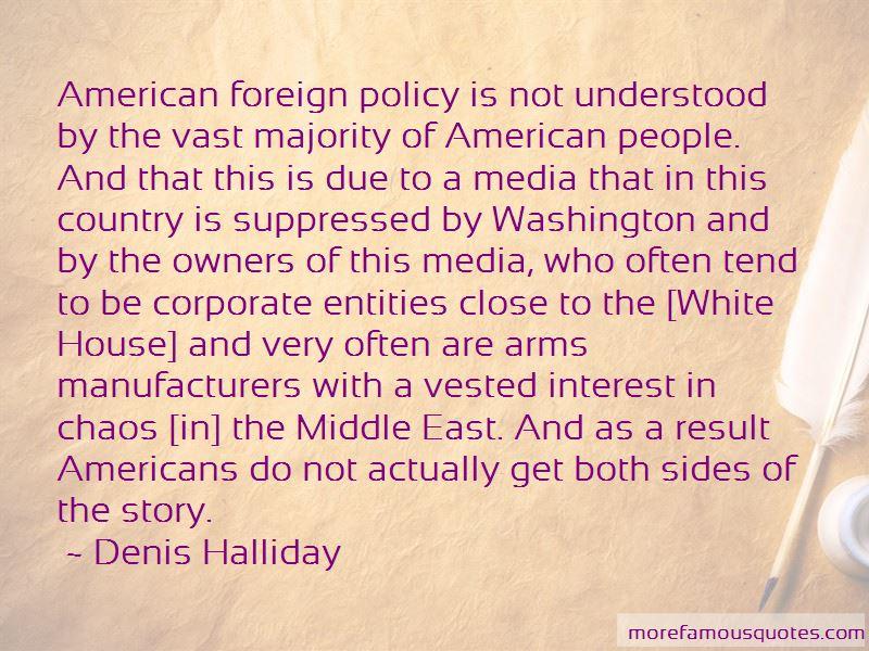 Denis Halliday Quotes Pictures 4