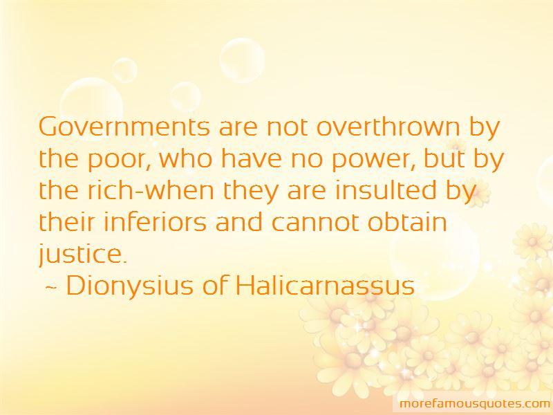 Dionysius Of Halicarnassus Quotes