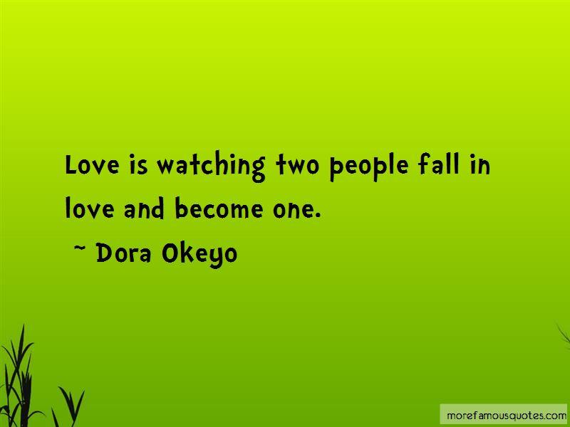 Dora Okeyo Quotes Pictures 2