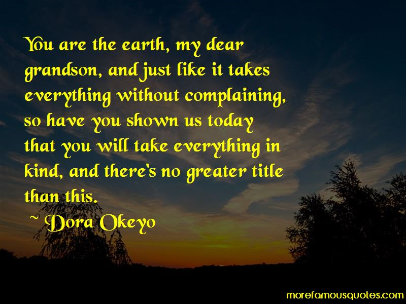Dora Okeyo Quotes Pictures 4