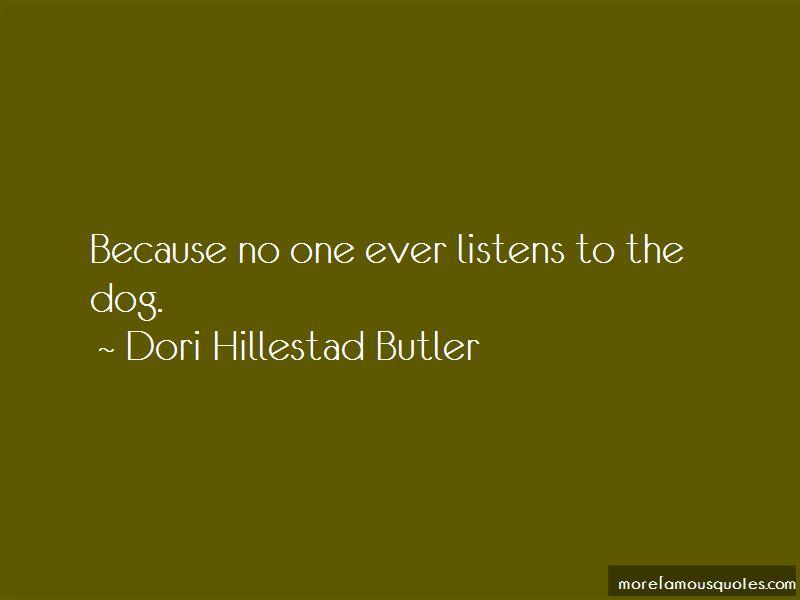 Dori Hillestad Butler Quotes Pictures 3