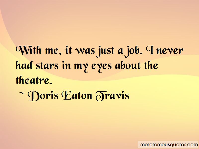 Doris Eaton Travis Quotes Pictures 2